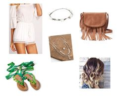 """""""green"""" by giorgia-brea on Polyvore featuring Apt. 9, Lipsy and BKE"""