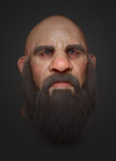Dwarf revisited, Michael Gonsalves on ArtStation at http://www.artstation.com/artwork/dwarf-revisited