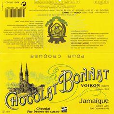 tablette de chocolat noir dégustation bonnat noir jamaïque