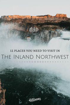11 Stunning Places To Visit In The Inland Northwest // Washington, Idaho, Montana, Oregon, USA - The Mandagies Camping Places, Vacation Places, Places To Travel, Travel Destinations, Vacation Ideas, Oregon Vacation, Vacations, Weekend Trips, Day Trips