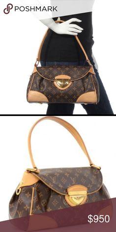 Louis Vuitton Beverly MM 100% AUTHENTIC LOUIS VUITTON Monogram Beverly M M Satchel Measurements: 13 x 8 x 5 in.   Excellent condition... Very little signs of wear.                  Authenticated by Posh Louis Vuitton Bags