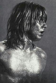 """lipstick-glam-and-glitter: Iggy Pop …u forgot to mention """"covered in glitter"""" Iggy Pop, New Wave, Music Icon, My Music, Rock Music, Iggy And The Stooges, Proto Punk, Glam And Glitter, Silver Glitter"""