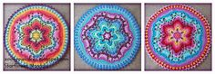 Starflower Mandala:   Row by Row