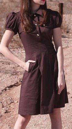 cocoa bean dress  http://rstyle.me/n/rrbdnpdpe