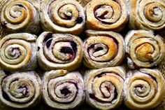 Blueberry cinnamon roles | Anecdotes and Applecores