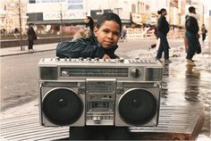 "Images From Hip-Hop Photographer Jamel Shabazz's New Exhibit ""Reflections of the 80s"" 