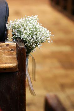 Wedding / mariage - décoration église - Church decoration