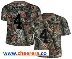 d8ab47c9ef1 Men's Houston Texans #4 Deshaun Watson Camo Stitched NFL Rush Realtree Nike  Limited Jersey Deshaun