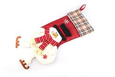 OUMOSI Large Xmas Decoration Gift Bag Christmas Santa Treat Boot for Kids *** Check this awesome product by going to the link at the image.