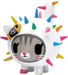 'Carina Carina' by Tokidoki and produced by StrangeCo. So super cute it hurts the soul.