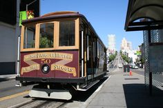 Pictured here is one of the historic Market Street Street Cars. Located in San Francisco, California. These historic modes of transportation are still in use in San Francisco. Experience it today! Adventure Tours, Pacific Northwest, North West, West Coast, Transportation, San Francisco, California, Explore, Cars