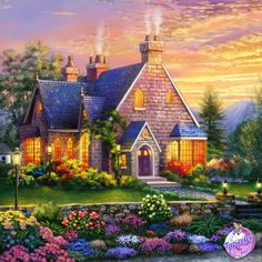 Coloring Apps, Coloring Books, Paint By Number, Mansions, House Styles, Creative, Inspiration, Beautiful, Home Decor