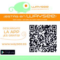 App de viajes para hacer  visitas con audio guías. Es fácil crear sitios nuevos: www.waysee.com. Muy chula