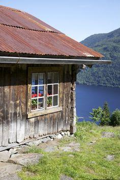 piękne miejsce,  stara chata