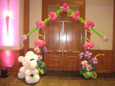 Dog house balloon arch entrance The Effective Pictures We Offer You About white Balloon Decorations A quality picture can tell you many things. You can find the most beautiful pictures that can be pre Balloon City, Love Balloon, Balloon Arch, Balloon Decorations, Balloon Ideas, White Balloons, Paris Theme, Bat Mitzvah, Most Beautiful Pictures