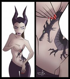 Disney Punk Maleficent