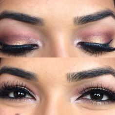Fall Gold and Red Smokey Eye by SelenaCrawford on the #Sephora Beauty Board