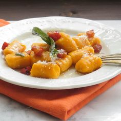Sweet Potato Gnocchi | Garlic & Zest