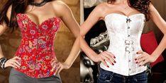 Um corselet simples que pode ser usado em tecido plano com strech. Segue esquema de modelagem do 36 ao 56.