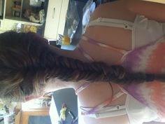 #hair #fish tail #cousin