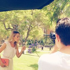 Behind The Scenes at the LC Lauren Conrad for Kohl's Back-To-School Photoshoot