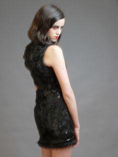 MOBO fully beaded dress