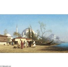 'Tophane, Constantinople' by Charles Théodore Frère (1814-1886, France)