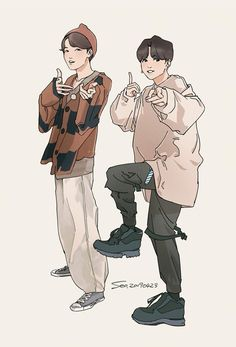Bts Photo, Foto Bts, Character Art, Character Design, Dibujos Cute, Bts Drawings, Bts Chibi, Kpop Fanart, Manga Drawing