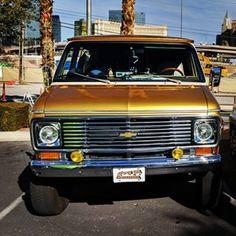 At council of councils in Las Vegas Chevy Vans, Custom Vans, Chevy Trucks, 4x4, Chevrolet, Las Vegas, Instagram, Ideas, Chevy Pickup Trucks