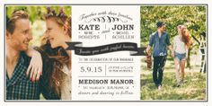 Enjoy sophisticated vintage style wedding invites from Mixbook. Customize your own!