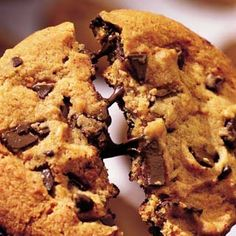 Neiman Marcus Chocolate Chip Cookies- I've also made these with butterscotch chips mixed in with the chocolate chips! very yum!