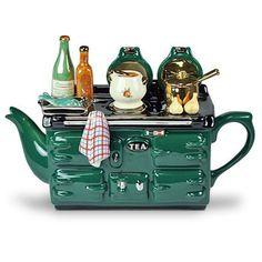 Es gibt schon sehr merkwürdige Teekannen!