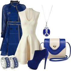 All is Fair in Love & Fashion. Blue hue