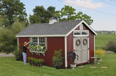 The storage shed plans by professionals can be very easy to execute with clear blue prints though whatever skill level you may have in building these outdoor sheds. - See more at