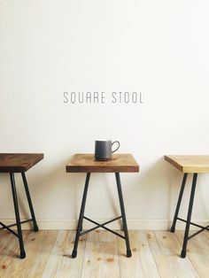 square stool - New Ideas Black Butler Wallpaper, Damask Rug, Pedicure Chairs For Sale, Painted Jars, Christmas Hairstyles, Oversized Chair, Diy Painting, Girls Bedroom, Ottoman
