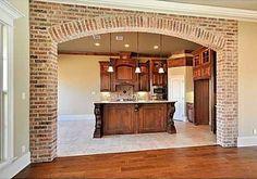 Large Brick Arch