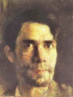 Stefan Luchian: Self-Portrait, 1906.