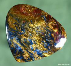 2 cabuchons CatEye vidrio en Royal azul 25 mm