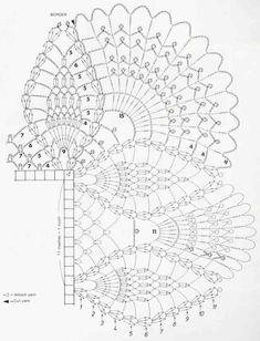 Album Archive - Magic Crochet nº 24 Crochet Border Patterns, Crochet Table Runner Pattern, Crochet Cowl Free Pattern, Crochet Doily Diagram, Crochet Lace Edging, Crochet Art, Crochet Home, Filet Crochet, Crochet Stitch