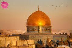 Cartoline da #Gerusalemme: Moschea della Roccia