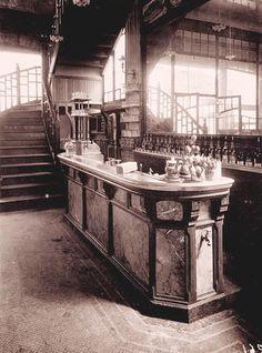 Eugène Atget 'The Wine Seller, 15 Rue Boyer' 1910–1911 Gelatin-silver print (printed by Berenice Abbott) Gift of Walter P. Chrysler, Jr., Chrysler Museum of Art, Norfolk, VA.