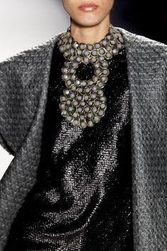 Joanna Mastroianni at New York Fashion Week Fall 2013