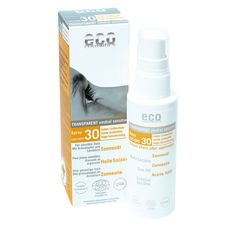 #EcoCosmetics sun protection oil