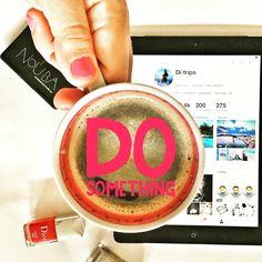 Новый день - а значит, пора делать что-то новое, например развивать новые соц.сети / Today is new day, and you should do something new, for example, follow up new #social #networks😉☕️💐    #pinterest #coffeeaddict #coffeeshots #coffeeholic #coffeetime #кофе #кава #kievblog #киев #украина #chanel #dior #kiev