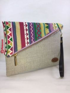 Sewing Purses Clutch Bag Patterns 44 Super Ideas Source by diannapenninkho and purses Clutch Bag Pattern, Shabby Chic Stil, Diy Clutch, Clutch Purse, Sewing Baby Clothes, African Accessories, Embroidery Bags, Fabric Bags, Linen Fabric