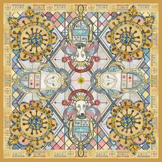 SWASH London   Charming Scarves print pattern