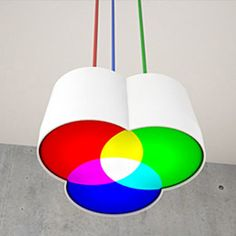RGB Light by Martin Meier. In honor of Val, for showing me that it is possible to create yellow with red and green