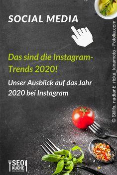 Wir geben euch in unserem neuen Blogbeitrag einen Ausblick auf die Instagram-Trends 2020! Viel Spaß beim lesen! #SocialMedia #Instagram #2020 #Trends #Onlinemarketing E-mail Marketing, Content Marketing, Social Media Marketing, Social Media Trends, Pinterest Co, Facebook Content, Search Ads, Lokal, Local Seo