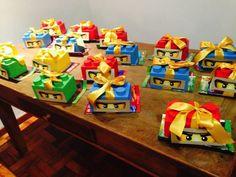 Lego Ninjago party favors | Lego Party Otto | Pinterest | Party ...