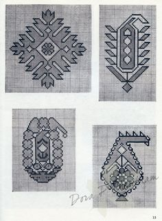 Gallery.ru / Фото #23 - Persian Rug Motifs for Needlepoint - Dora2012 page 13 (13 of 48)